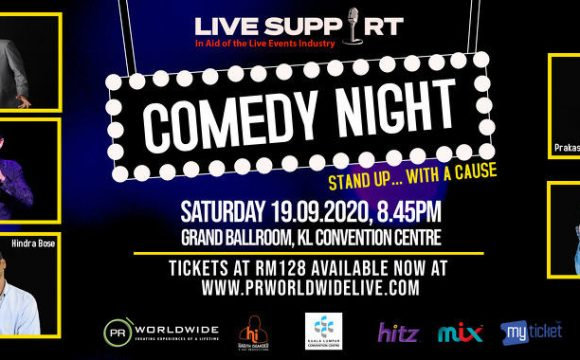LIVE SUPPORT COMEDY NIGHT