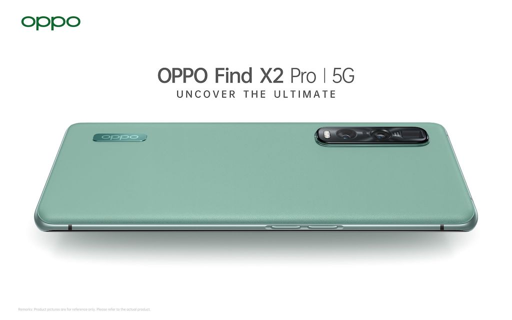 OPPO Find X2 Pro 5G Green Vegan Leather