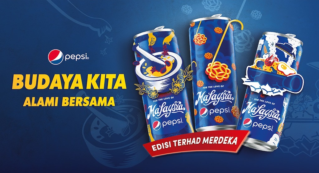 Pepsi's Limited-Edition Malaysian Cultural Can