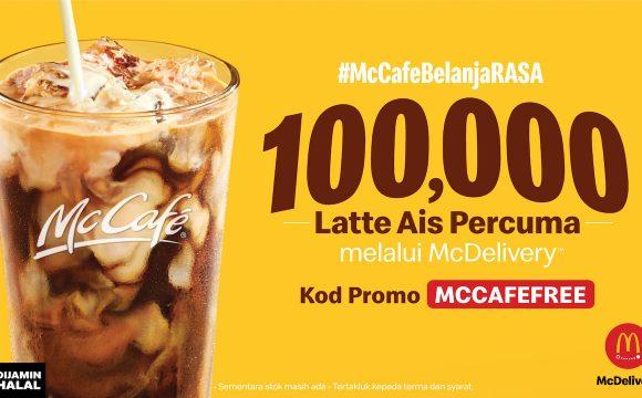 100,000 McCafé Iced Lattes