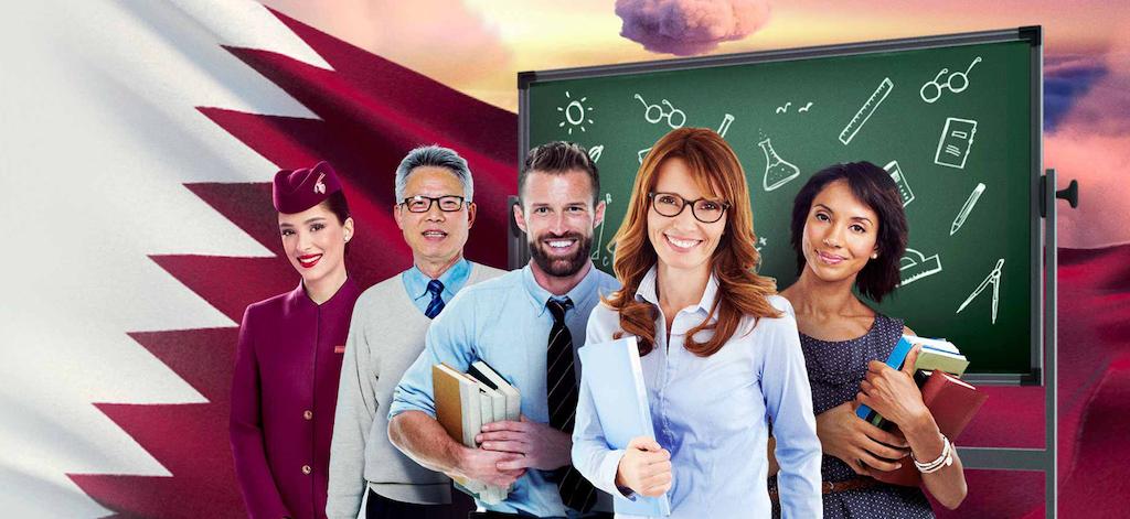 Qatar Airways Thanks Teachers