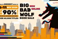 The Big Bad Wolf Book Sale 2020