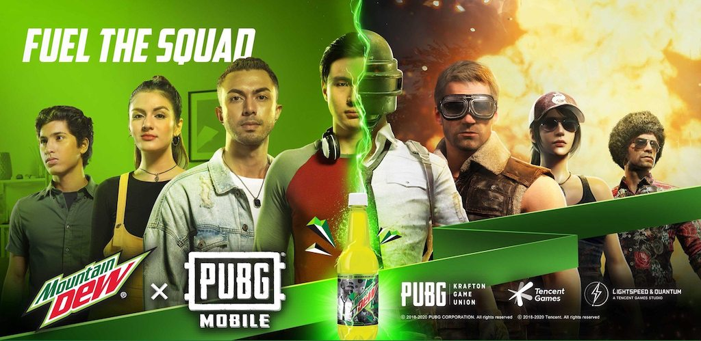 Mountain Dew X PUBG Mobile