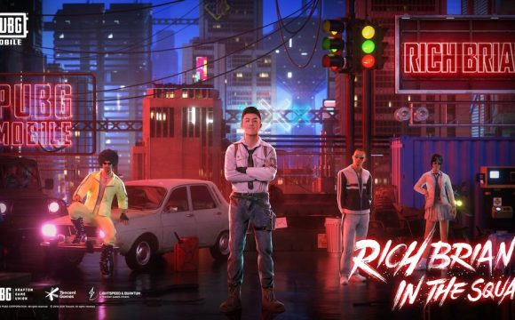 PUBG MOBILE Exclusive Collaboration with Rich Brian