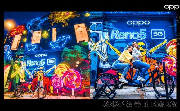 OPPO Reno5 5G Friendship Wonderland