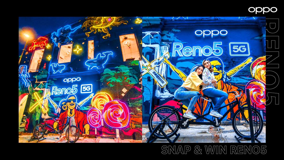 OPPO Reno5 5G Friendship Wonderland