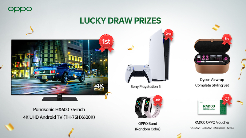 OPPO Lucky Draw