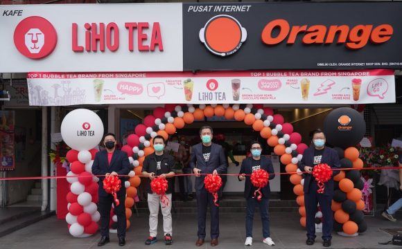 Orange Esports Cafe LiHO TEA Malaysia