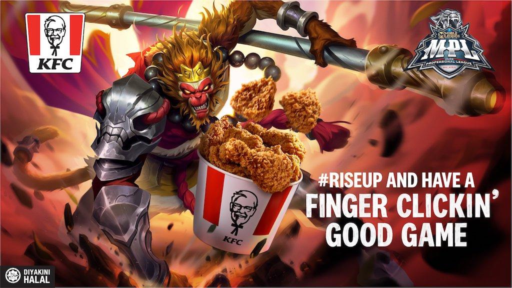 POWERUP bertema KFC x MLBB