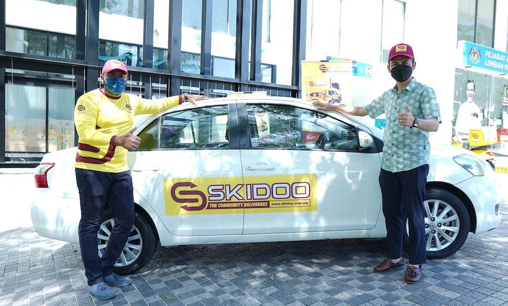 SKIDOO Malaysia - The Newly Launched Delivery Service